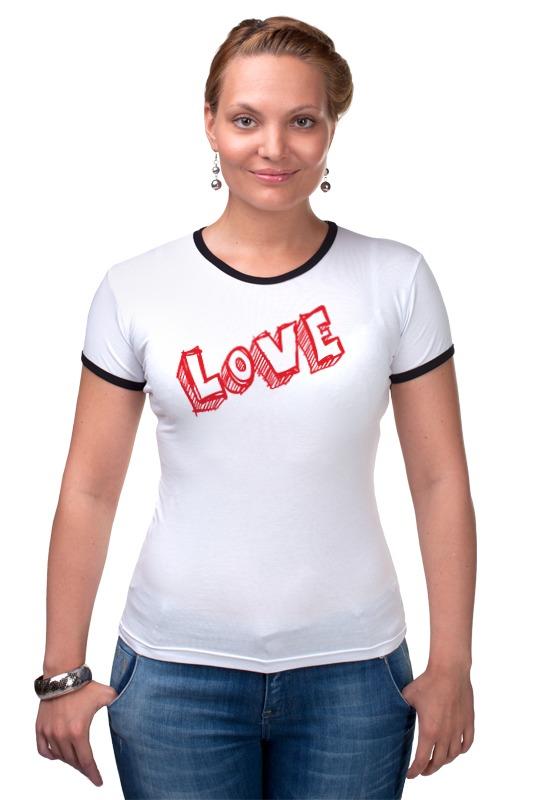 Футболка Рингер Printio Love футболка рингер printio love no