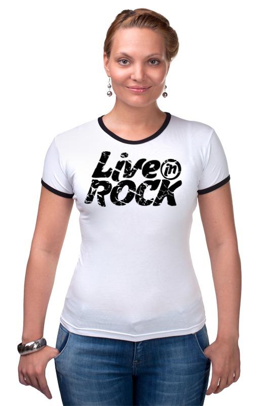 Футболка Рингер Printio Футболка liveinrock футболка magnetiq футболка