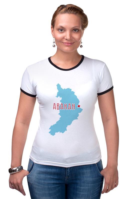 Футболка Рингер Printio Республика хакасия. абакан футболка рингер printio республика удмуртия ижевск