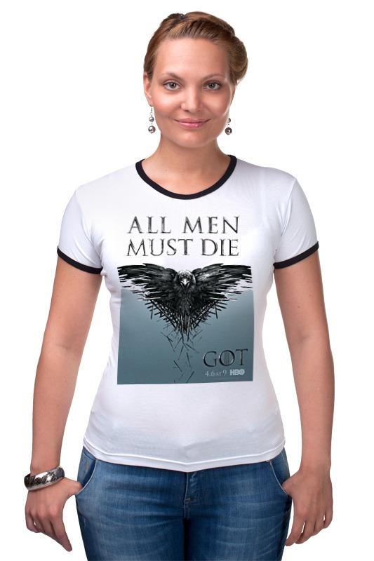 Футболка Рингер Printio Игра престолов / games of trones футболка wearcraft premium printio игра престолов games of trones