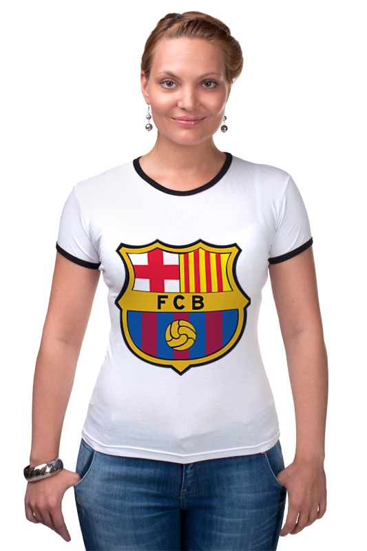 Футболка Рингер Printio Барселона tryp barcelona condal mar hotel 4 барселона