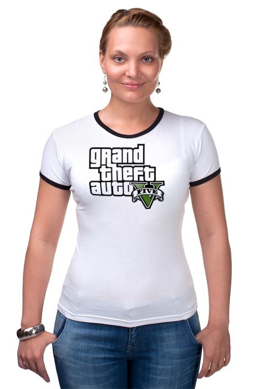 Футболка Рингер Printio Grand theft auto 5 футболка классическая printio grand theft auto 5