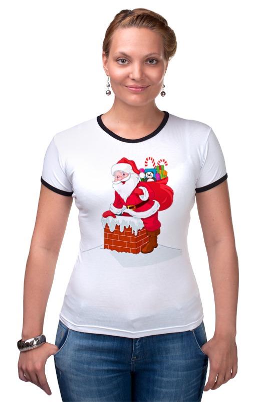 Футболка Рингер Printio Дед мороз с подарками детская футболка классическая унисекс printio дед мороз