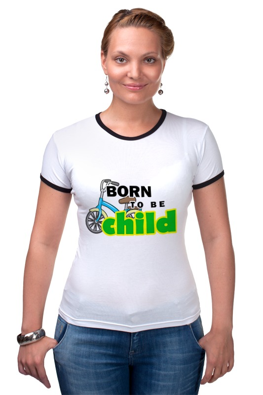 Футболка Рингер Printio Born to be child frommer s® born to shop paris