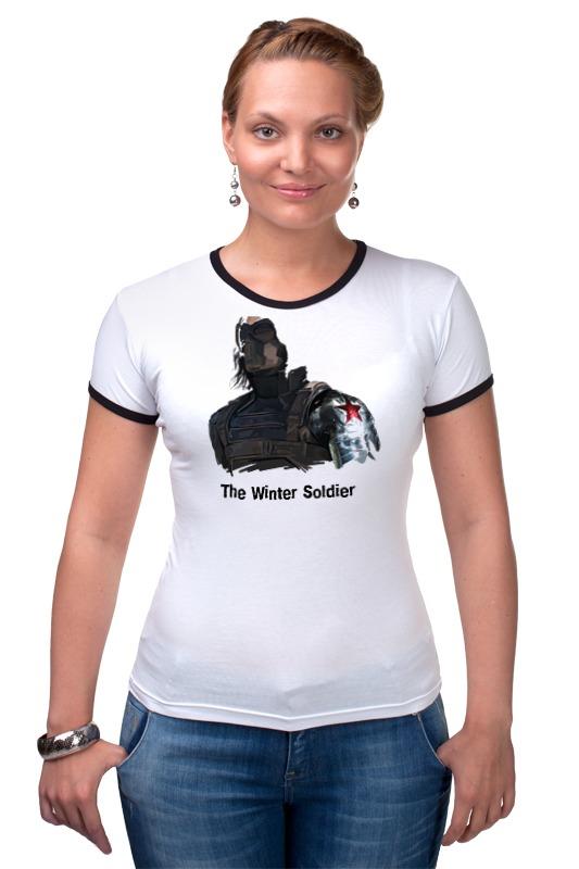 Футболка Рингер Printio Зимний солдат футболка для беременных printio неизвестный солдат