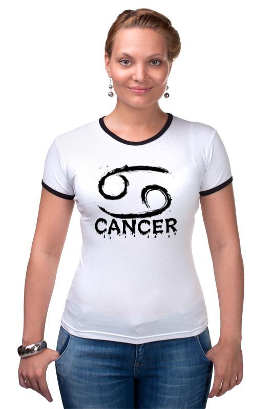 Футболка Рингер Printio Знак зодиака рак футболка рингер printio знак зодиака телец