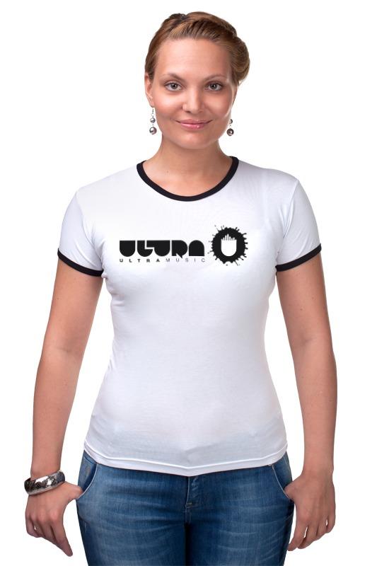 Футболка Рингер Printio Ultra music футболка классическая printio ultra music