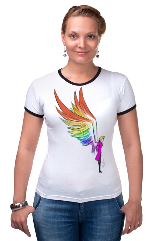 Футболка Рингер Printio Mozart l`opera rock футболка wearcraft premium slim fit printio mozart l opera rock