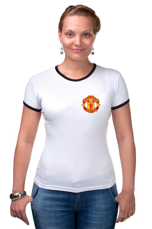Футболка Рингер Printio Manchester united майка классическая printio manchester united