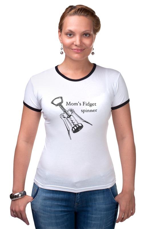 Футболка Рингер Printio Мамочкин спиннер футболка классическая printio мамочкин спиннер