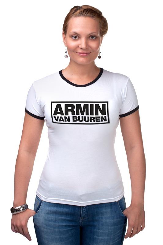 Футболка Рингер Printio Армин ван бюрен (armin van buuren) билеты armin van buuren спб