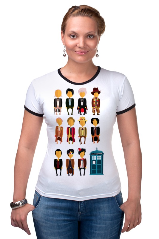 Футболка Рингер Printio Доктор кто (doctor who) футболка рингер printio доктор кто doctor who