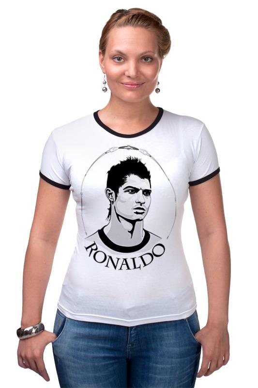 Футболка Рингер Printio Криштиану роналду футболка рингер printio real madrid реал мадрид