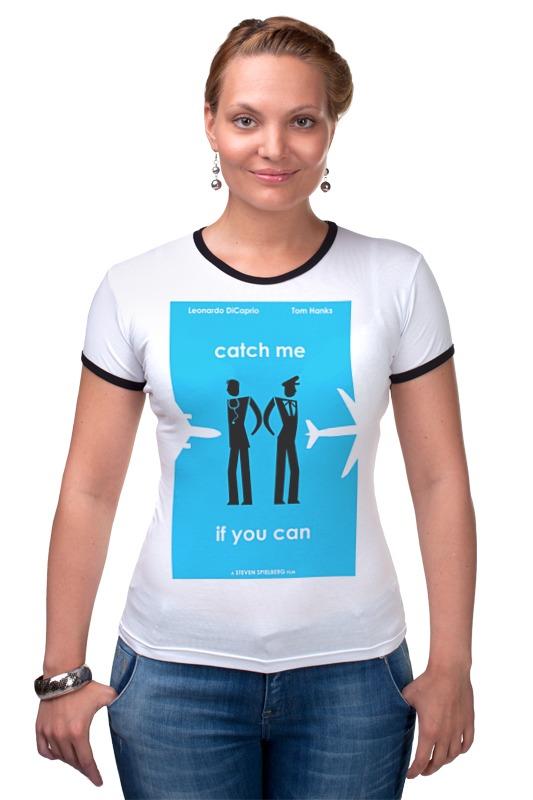 Футболка Рингер Printio Catch me футболка для беременных printio мишка me to you