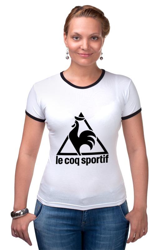 где купить Футболка Рингер Printio Le coq sportif по лучшей цене
