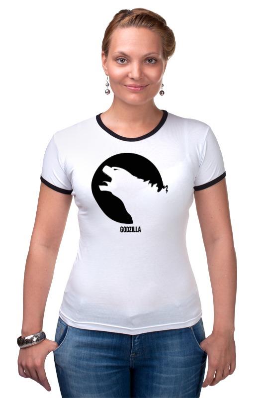 Футболка Рингер Printio Годзилла футболка рингер printio герои диснеевских мультфильмов