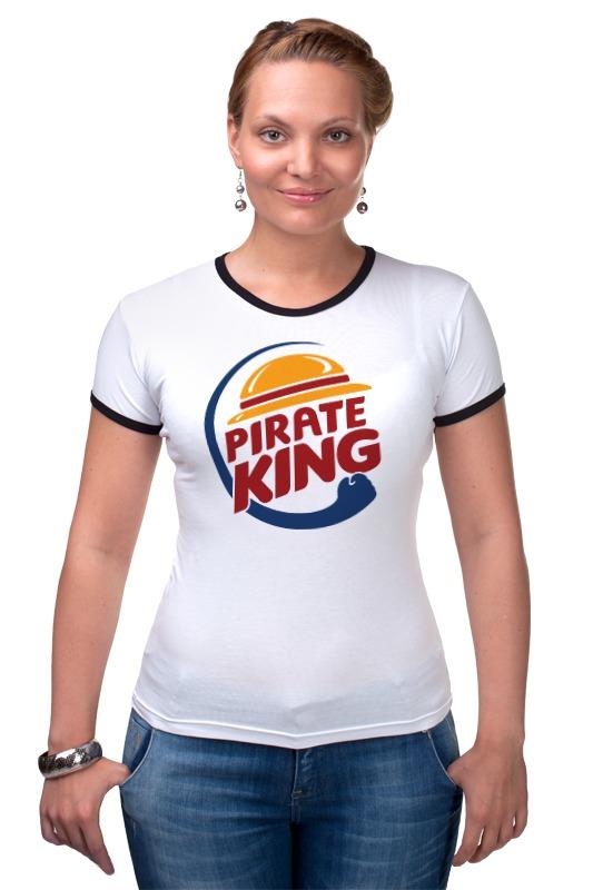 Футболка Рингер Printio Король пиратов (соломенная шляпа) шляпы krife шляпа