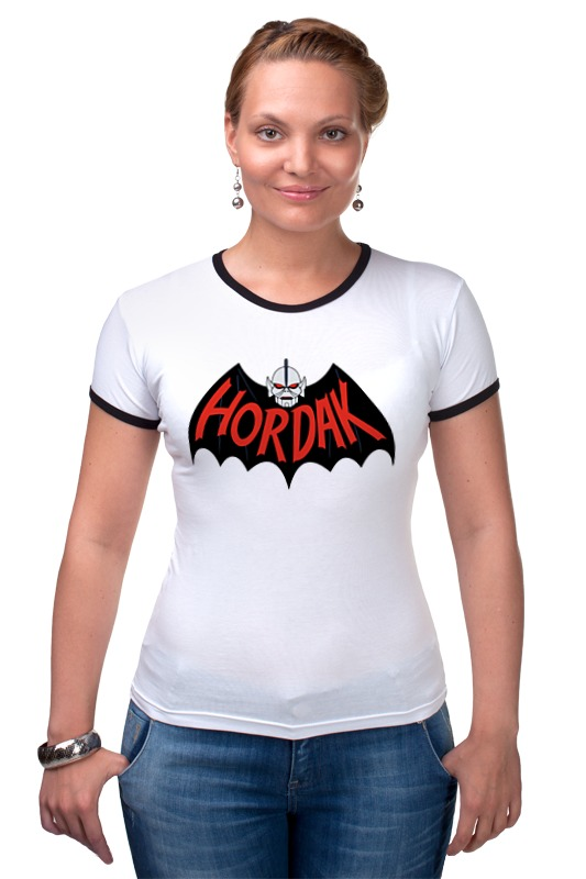 Футболка Рингер Printio Hordak (masters of the universe) толстовка wearcraft premium унисекс printio hordak masters of the universe