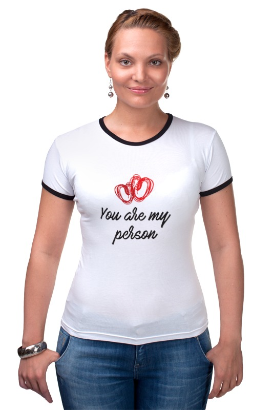 Футболка Рингер Printio You are my person футболка print bar you are in my spot