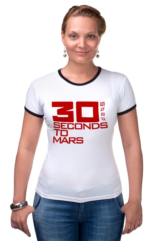 Футболка Рингер Printio 30 seconds to mars футболка стрэйч printio city of angels 30 seconds to mars