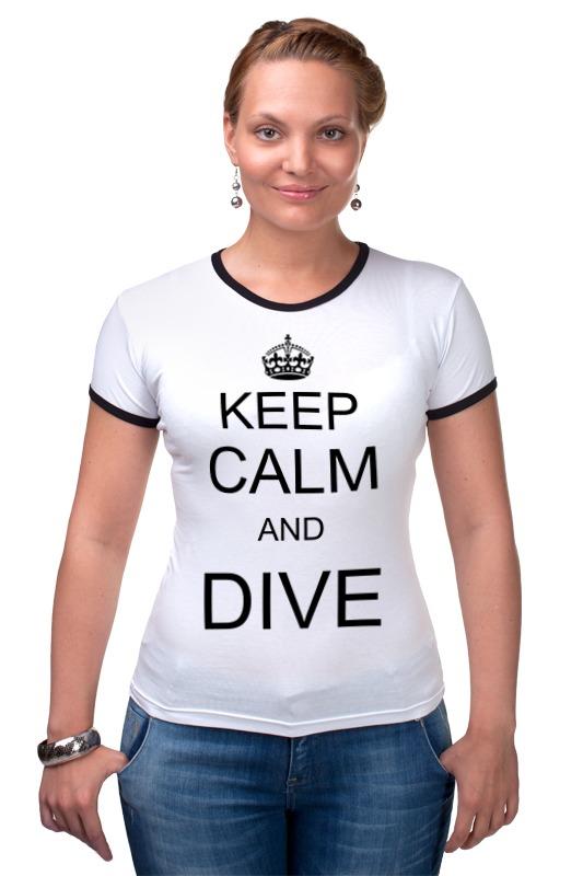 Футболка Рингер Printio Keep calm футболка рингер printio keep calm until laters baby 50 оттенков серого