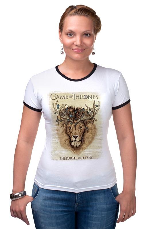 Футболка Рингер Printio Game of thrones - игра престолов r12 sexy game