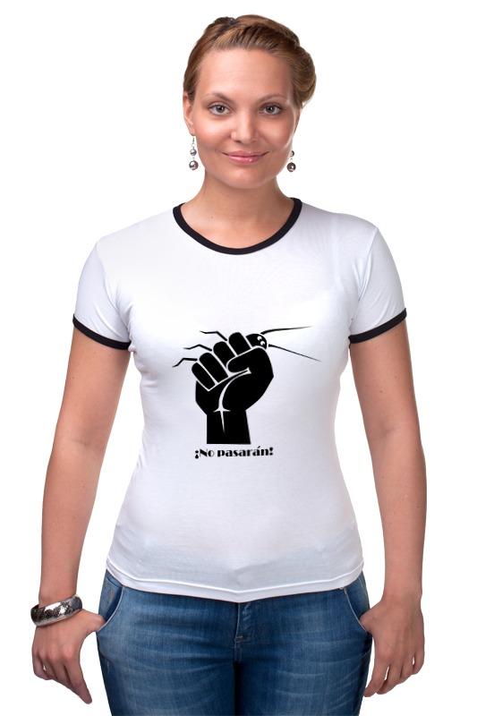 Футболка Рингер Printio No pasaran (они не пройдут!) футболка рингер printio война никогда не меняется