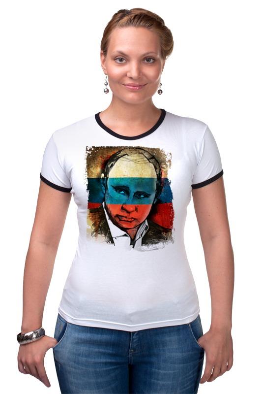 Футболка Рингер Printio Putin футболка рингер printio кофемания