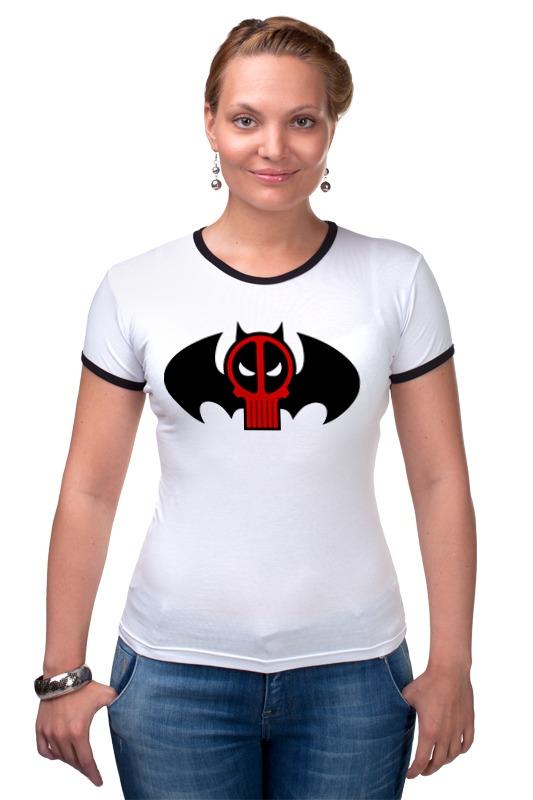 Футболка Рингер Printio Deadpool x batman футболка рингер printio ice king x batman