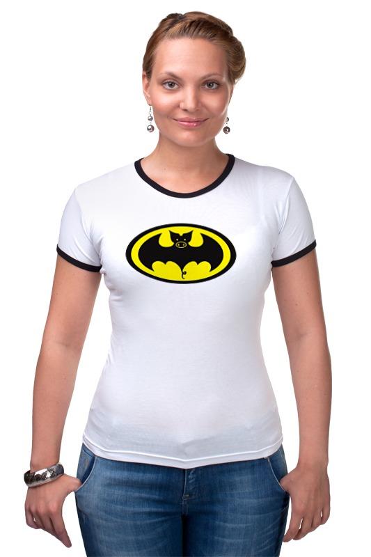 Футболка Рингер Printio Batman футболка рингер printio ice king x batman