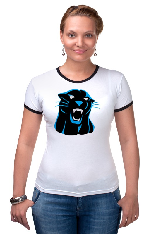 Футболка Рингер Printio Черная пантера сумка printio черная пантера
