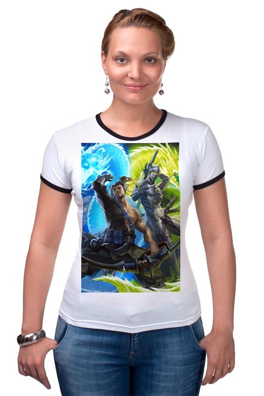 Футболка Рингер Printio Overwatch футболка рингер printio авто уаз