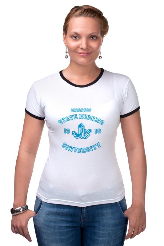 Футболка Рингер Printio Мужская мггу футболка мужская
