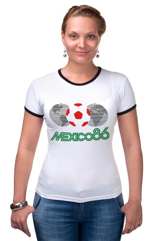 Футболка Рингер Printio Чемпионат мира по футболу в мексике 1986 год футболка рингер printio чемпионат мира