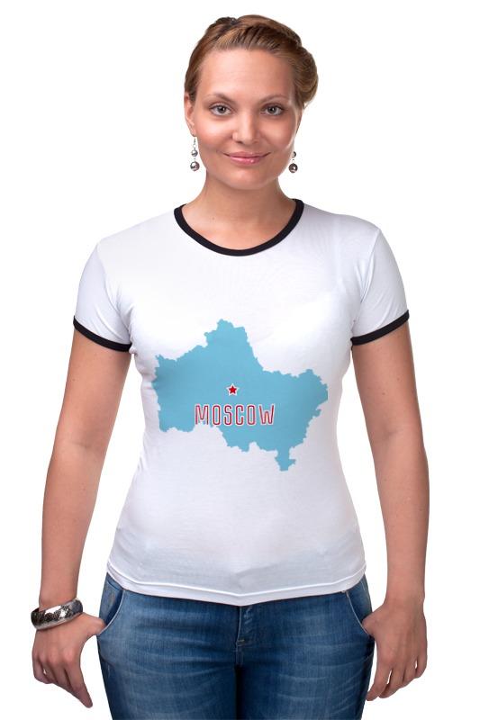Футболка Рингер Printio Московская область. москва футболка рингер printio москва