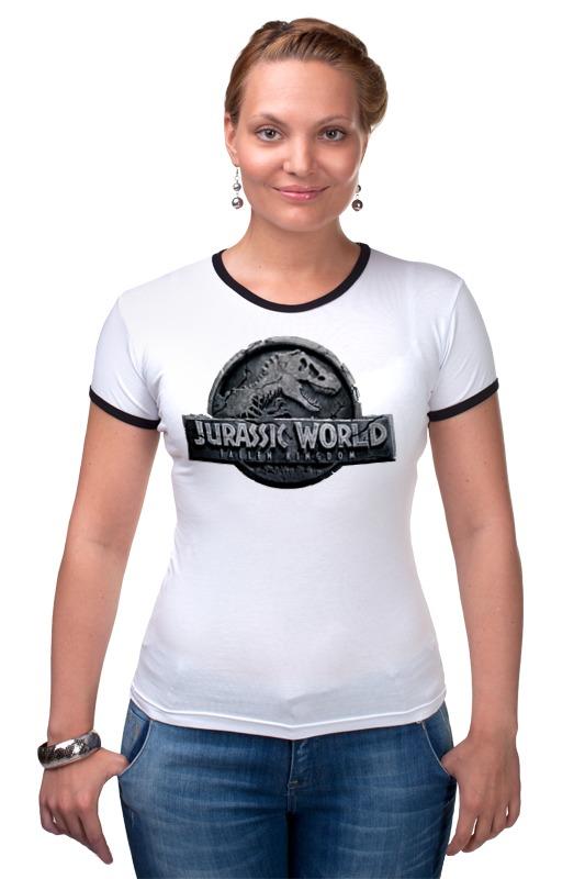 Футболка Рингер Printio Мир юрского периода / jurassic world hasbro фигурки b1139 титаны динозавры мира юрского периода в ассорт jurassic world