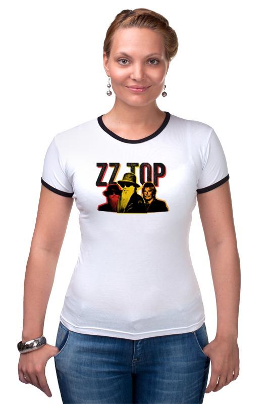 Футболка Рингер Printio Zz top! zz top zz top afterburner eliminator 2 cd