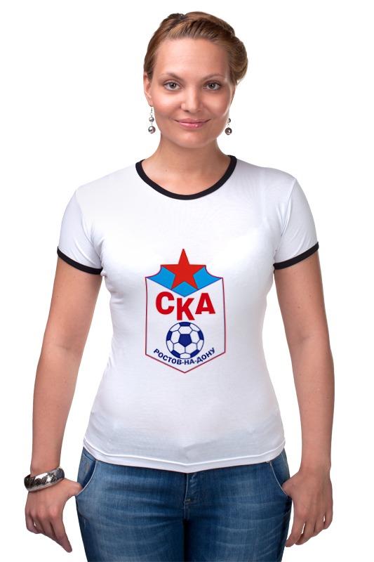 Футболка Рингер Printio Футбольный клуб ска (ростов-на-дону) футболка классическая printio ростовская область ростов на дону