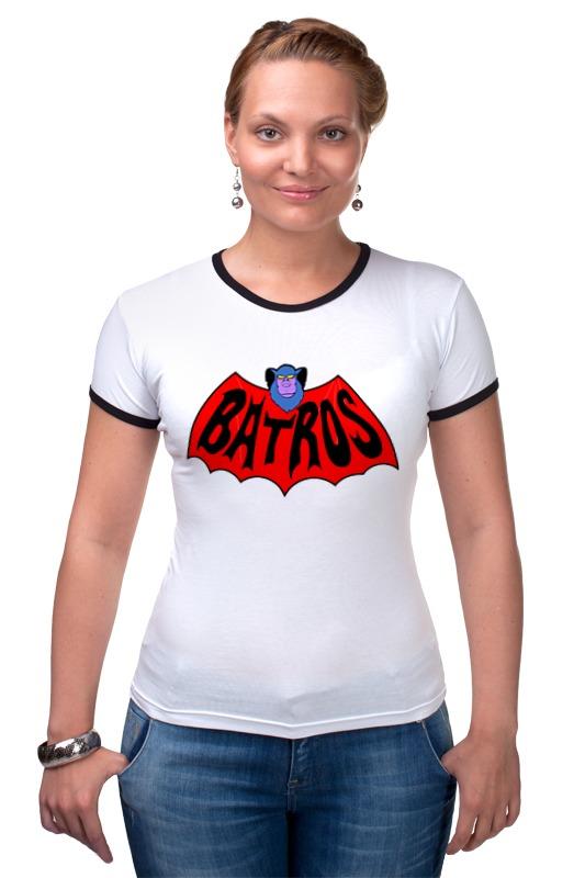 Футболка Рингер Printio Батрос (хи-мен) футболка wearcraft premium slim fit printio батрос хи мен