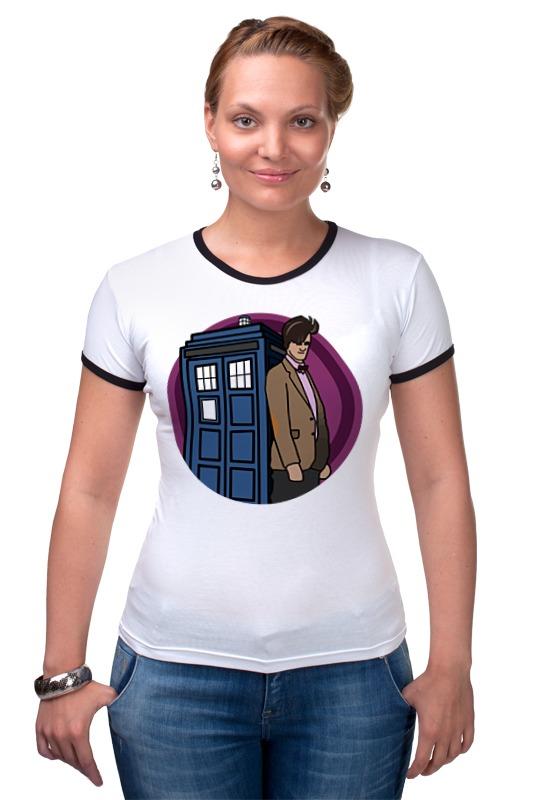 Футболка Рингер Printio Доктор кто футболка рингер printio доктор кто doctor who
