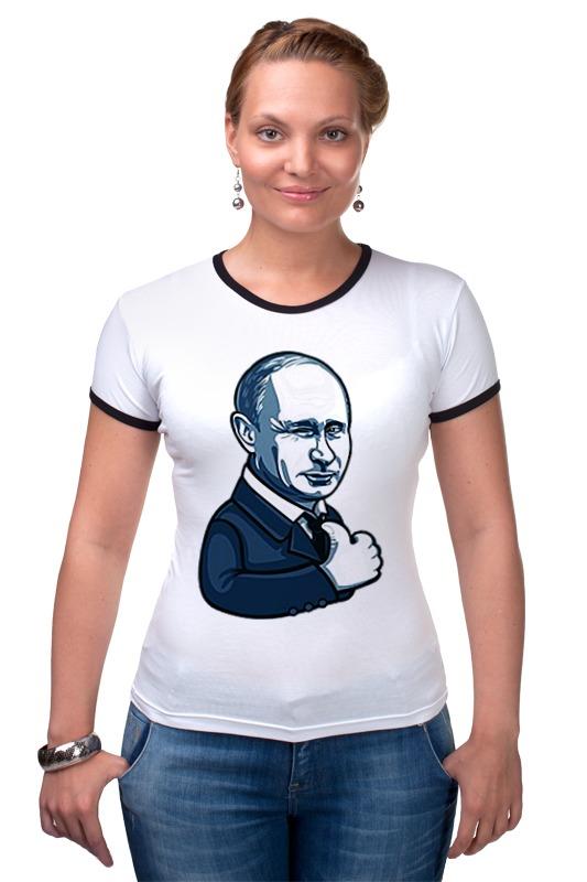 Футболка Рингер Printio Путин - like футболка рингер printio война никогда не меняется