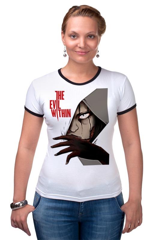 Футболка Рингер Printio The evil within