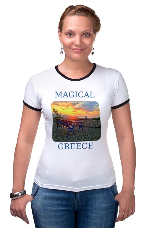 Футболка Рингер Printio Магическая греция белье gezanne шорты магическая волна l