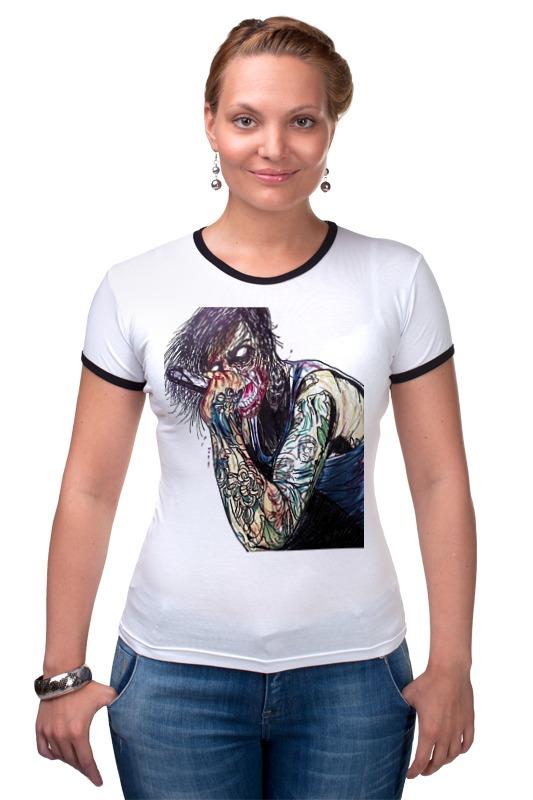 Футболка Рингер Printio Suicide silence футболка in silence феникс черный xl