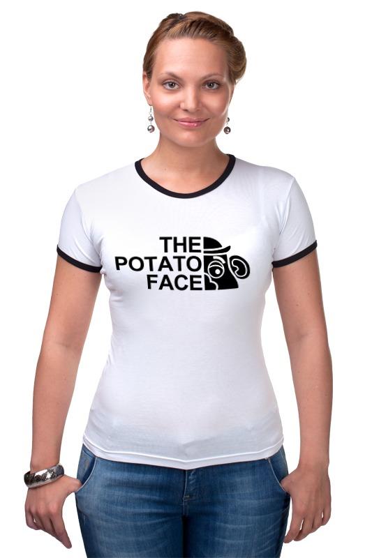 Футболка Рингер Printio Картошка футболка wearcraft premium printio картошка
