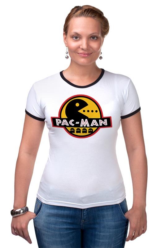 Футболка Рингер Printio Pac-man