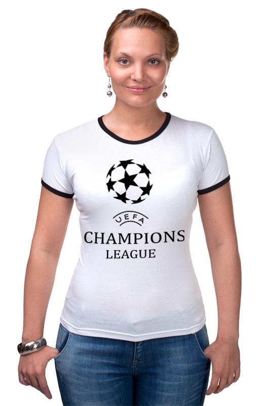 Футболка Рингер Printio Лига чемпионов