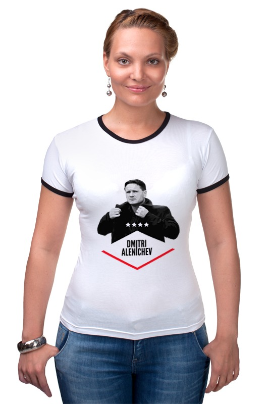 Футболка Рингер Printio Dmitry alenichev by design ministry футболка рингер printio spb t shirt by design ministry