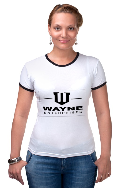 Футболка Рингер Printio Wayne enterprises футболка классическая printio wayne enterprises