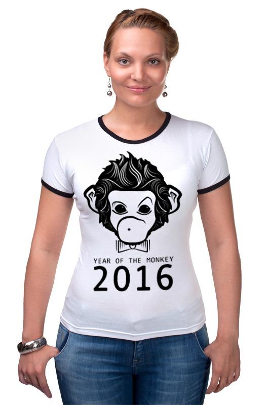 Футболка Рингер Printio Год обезьяны футболка рингер printio обезьяны